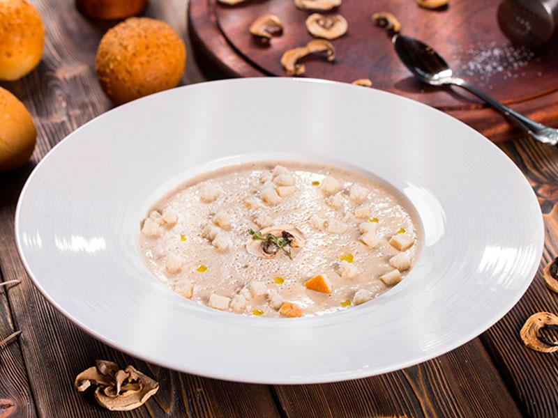 Крем-суп грибной__