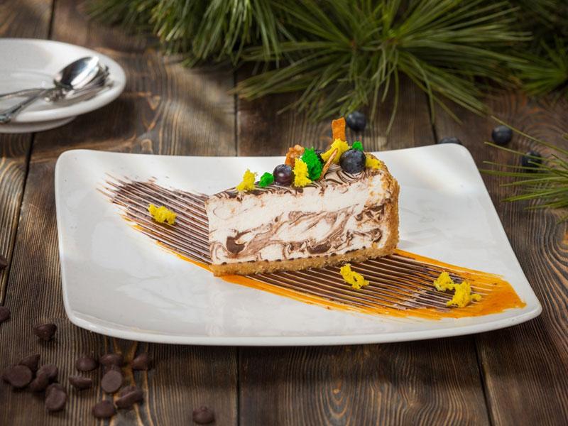 巧克力味芝士蛋糕