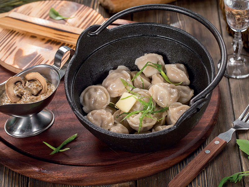 Red Deer Dumplings