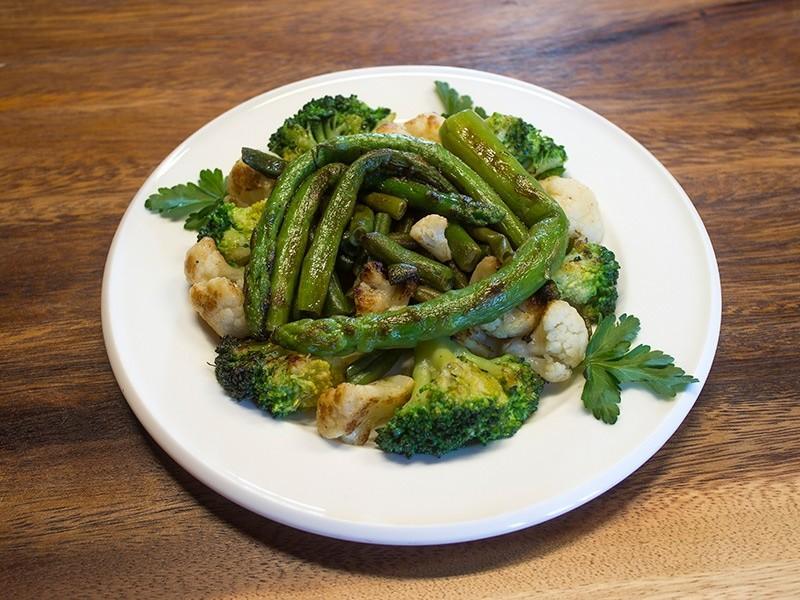 Микс брокколи и цветной капусты